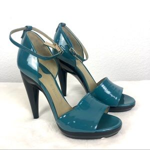 🎉HP🎉NWT Chloe Patent Leather Ankle Strap Sandals